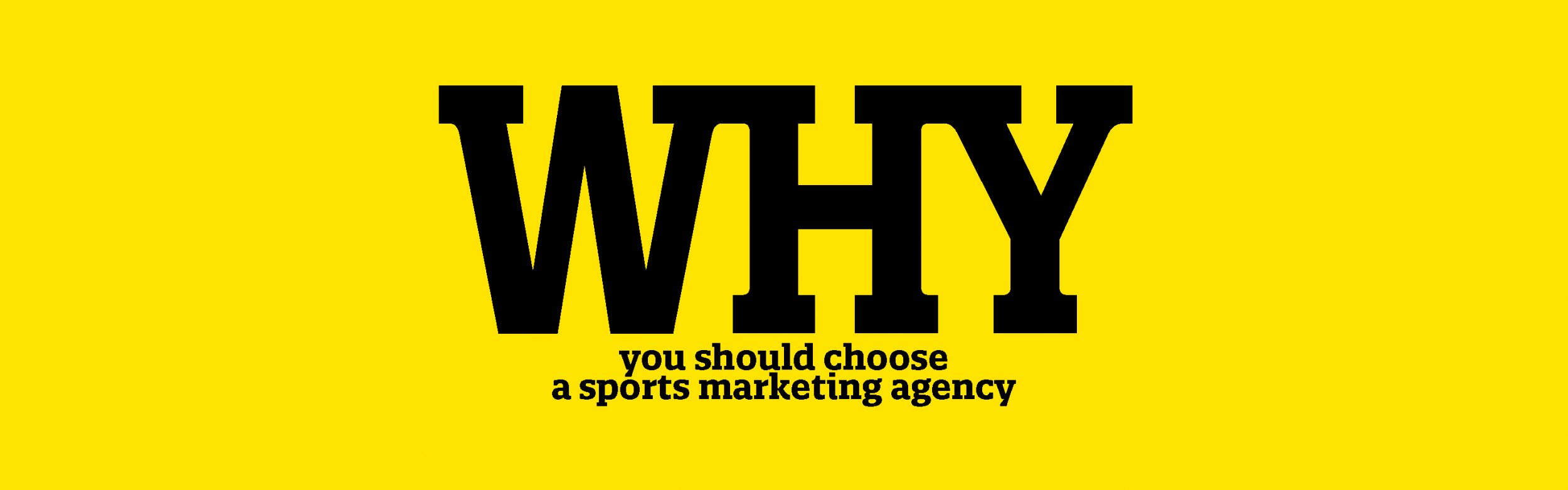 sports marketing agency why