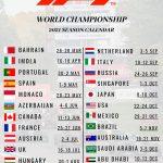 Calendario Formula 1 2021