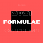 2021 Formula E Calendar
