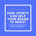 Come può lo sport aiutare la tua azienda?