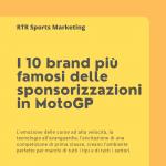 I 10 brand più famosi delle sponsorizzazioni in MotoGp