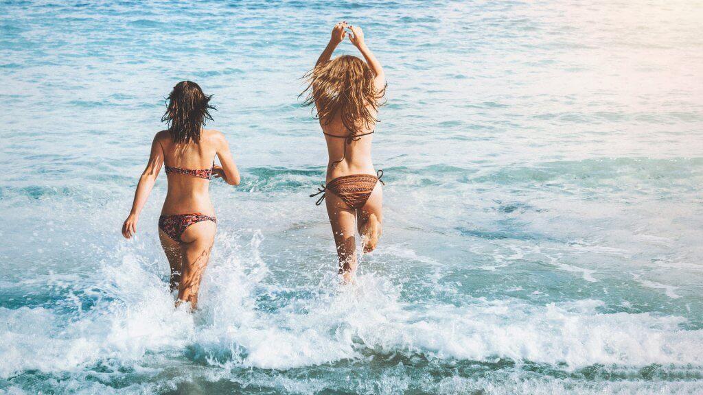 Ženy v moři
