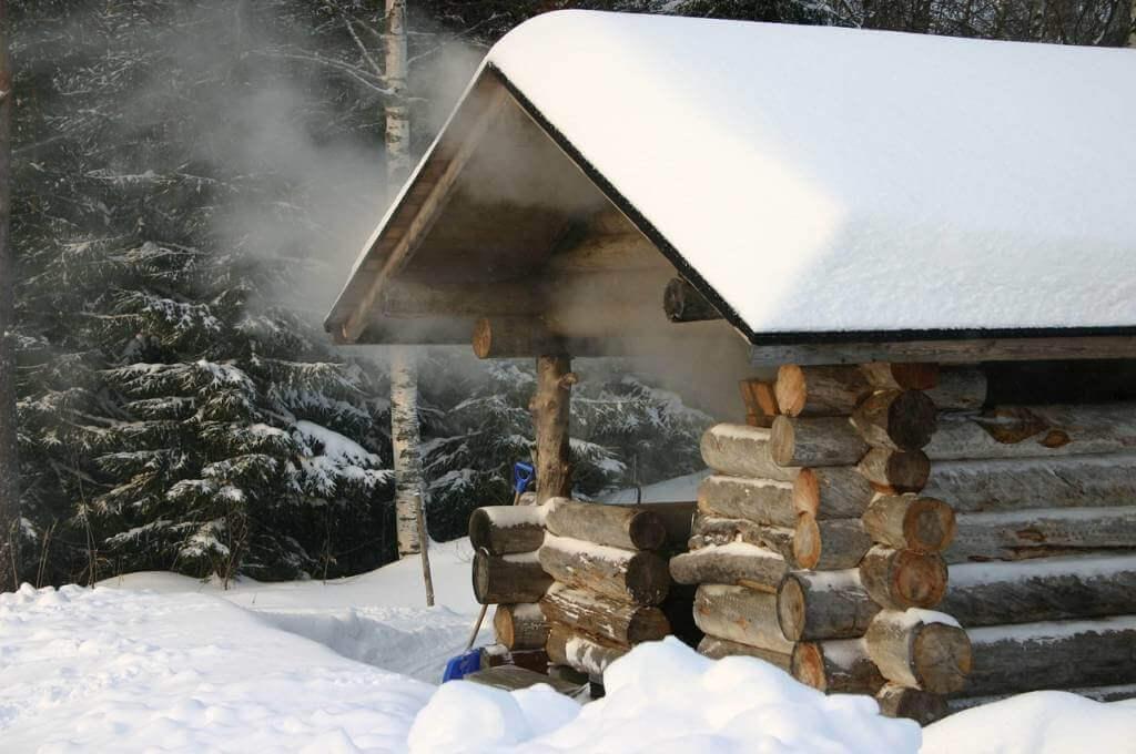 Sauna zima blog