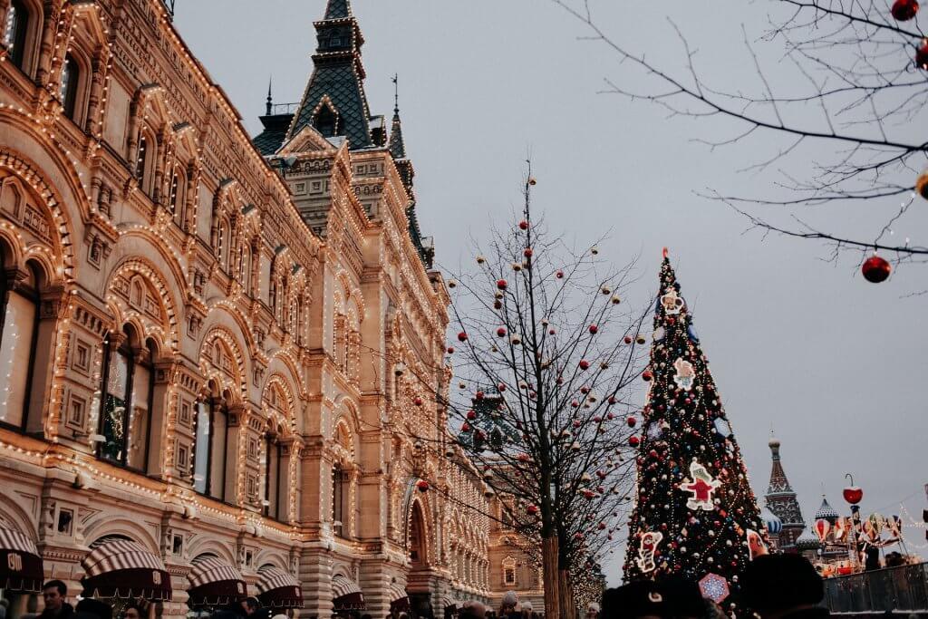vánoce v rusku