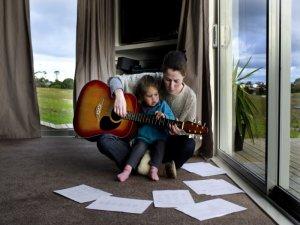 hra na kytaru maminka dcera