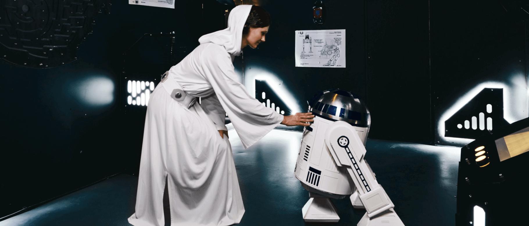 Pouze pro únikovku Star Wars, foto od provozovatele