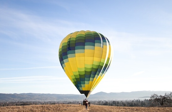 obrázek z článku historie letu balonem