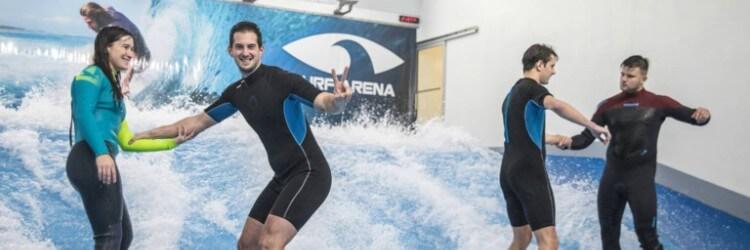 monetizace pro článek o indoor surfingu