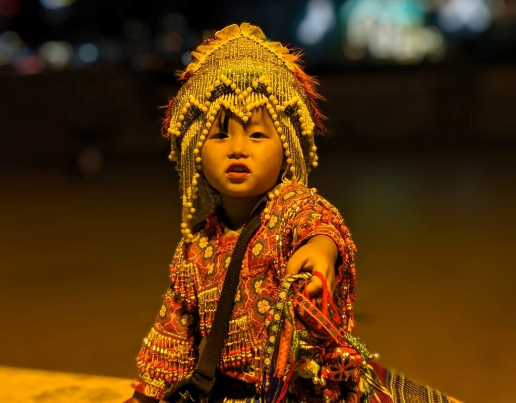 Vietnamská dívenka