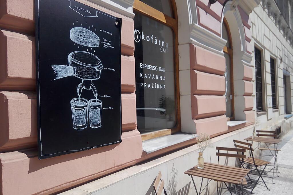Kofárna Café 3