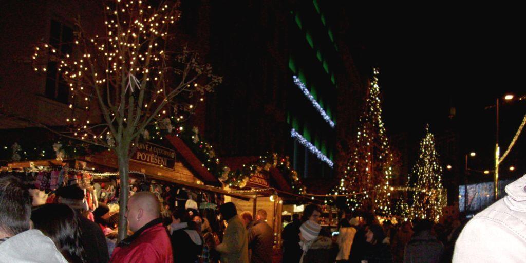 Vánoční trhy Brno