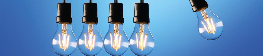 Mysig LED belysning för hemmet
