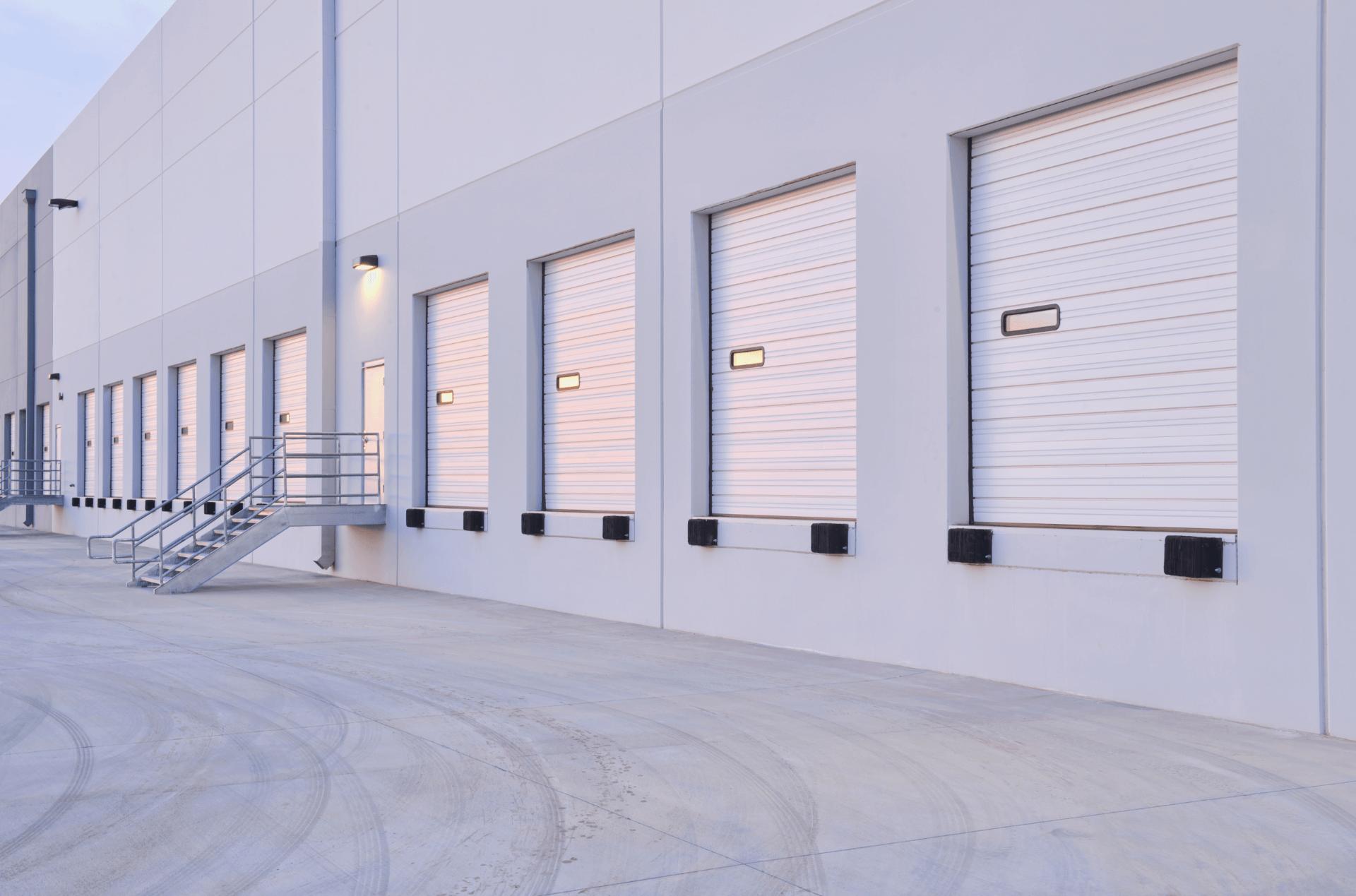 Garageport med motor 02