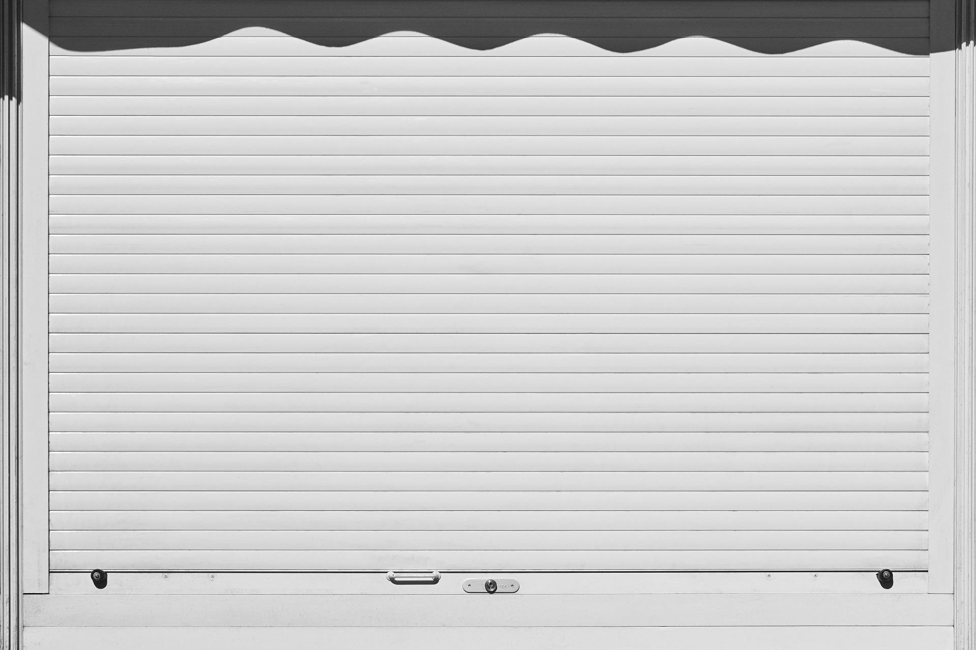 Garageport med motor
