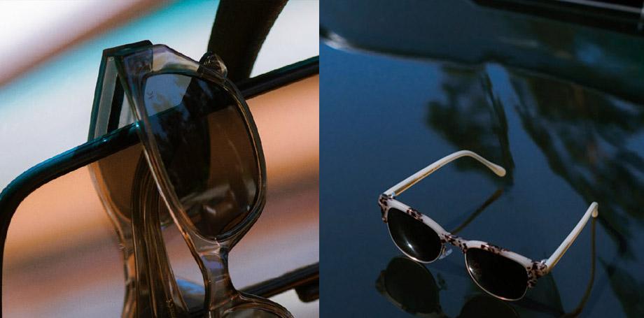 A.Kjærbede solglasögon