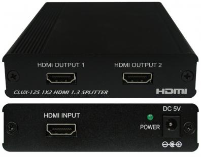 CYP/// QU-12S HDMI splitter en ingång 2 utgångar.