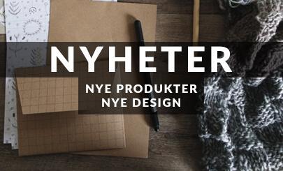 Banner nyheter. Nye produkter. Nye design