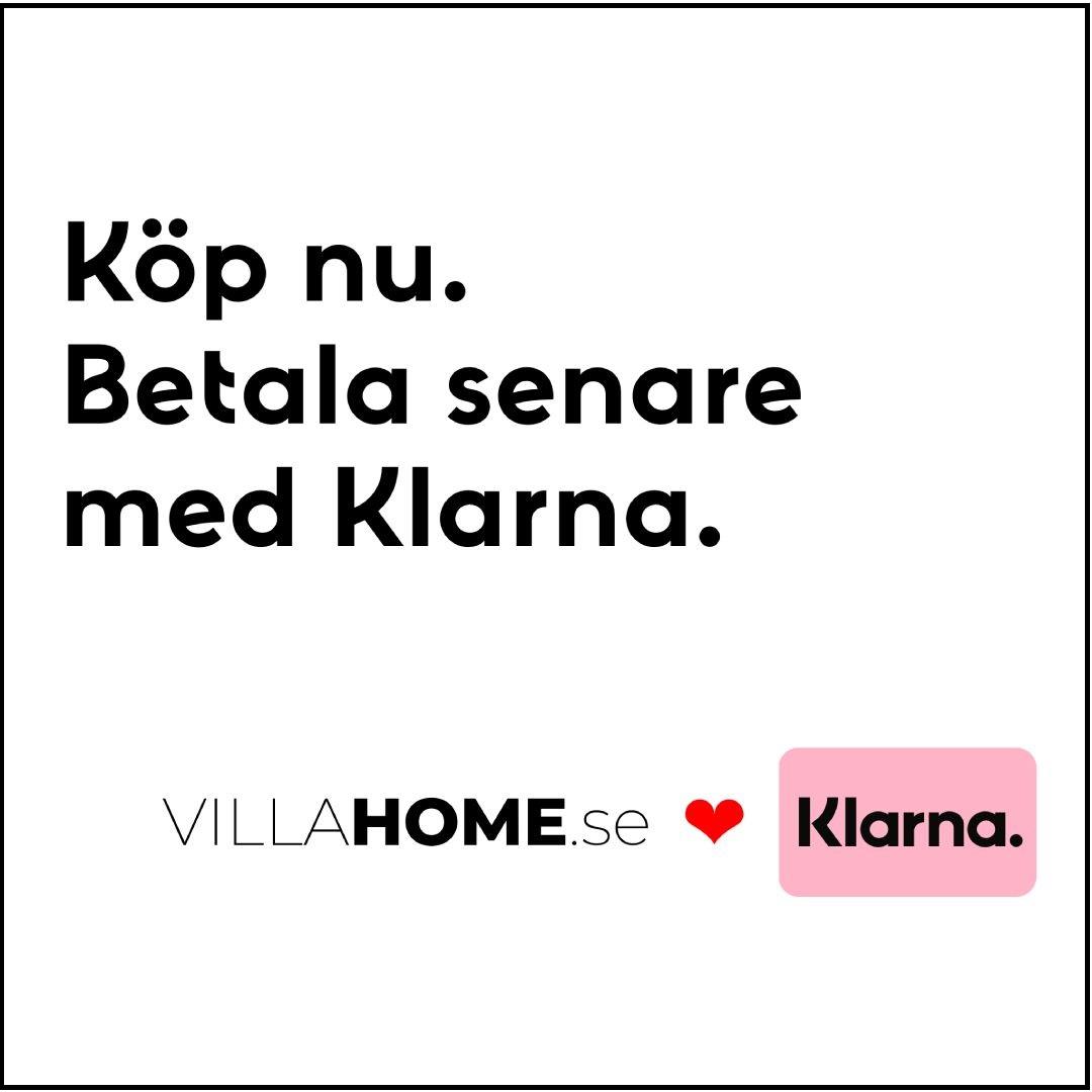Villahome.se lanserar med Klarna - Pressmeddelande
