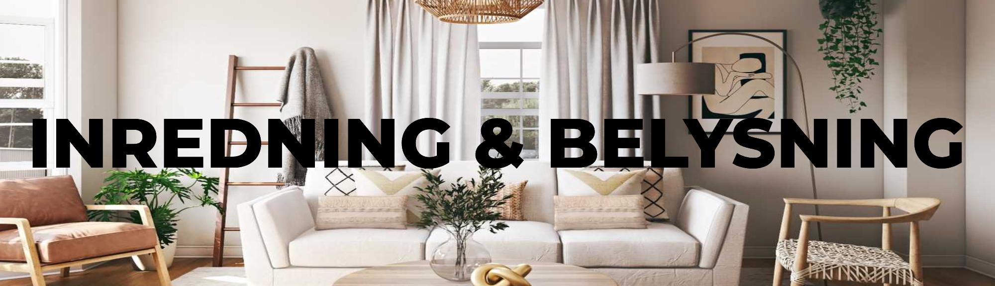 Kategori Inredning & Belysning Villahome.se Banner