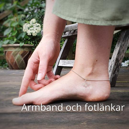 Handsmidda armband och fotlänkar från MIA´s smedja