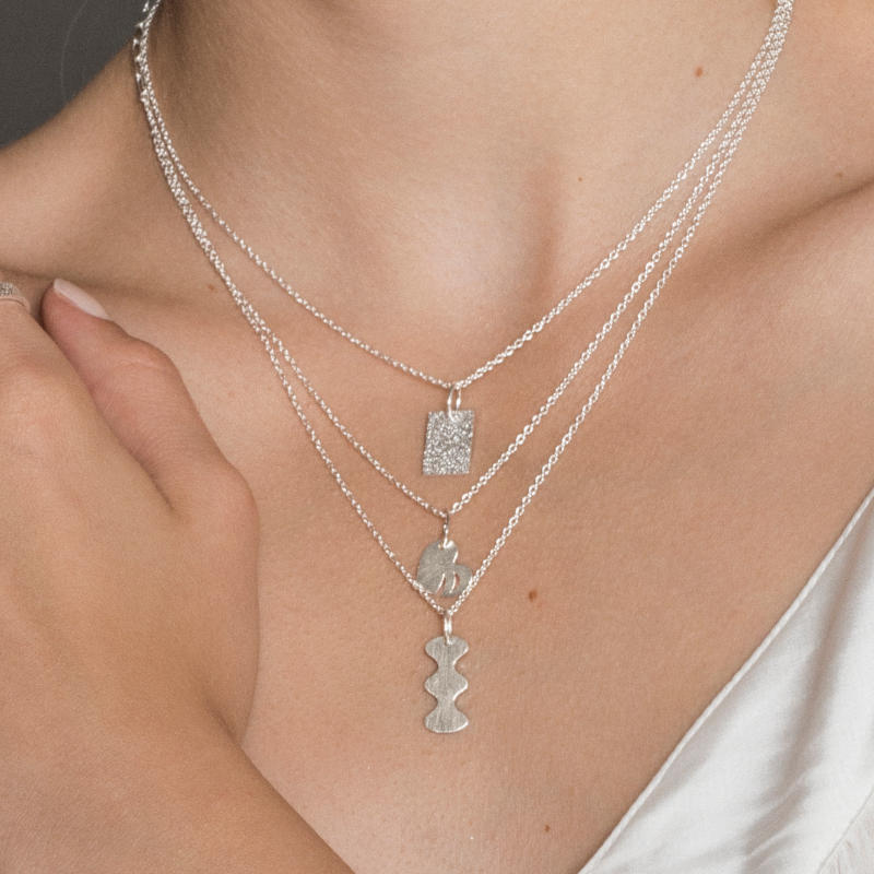 silverhalsband olika kollektioner anita june