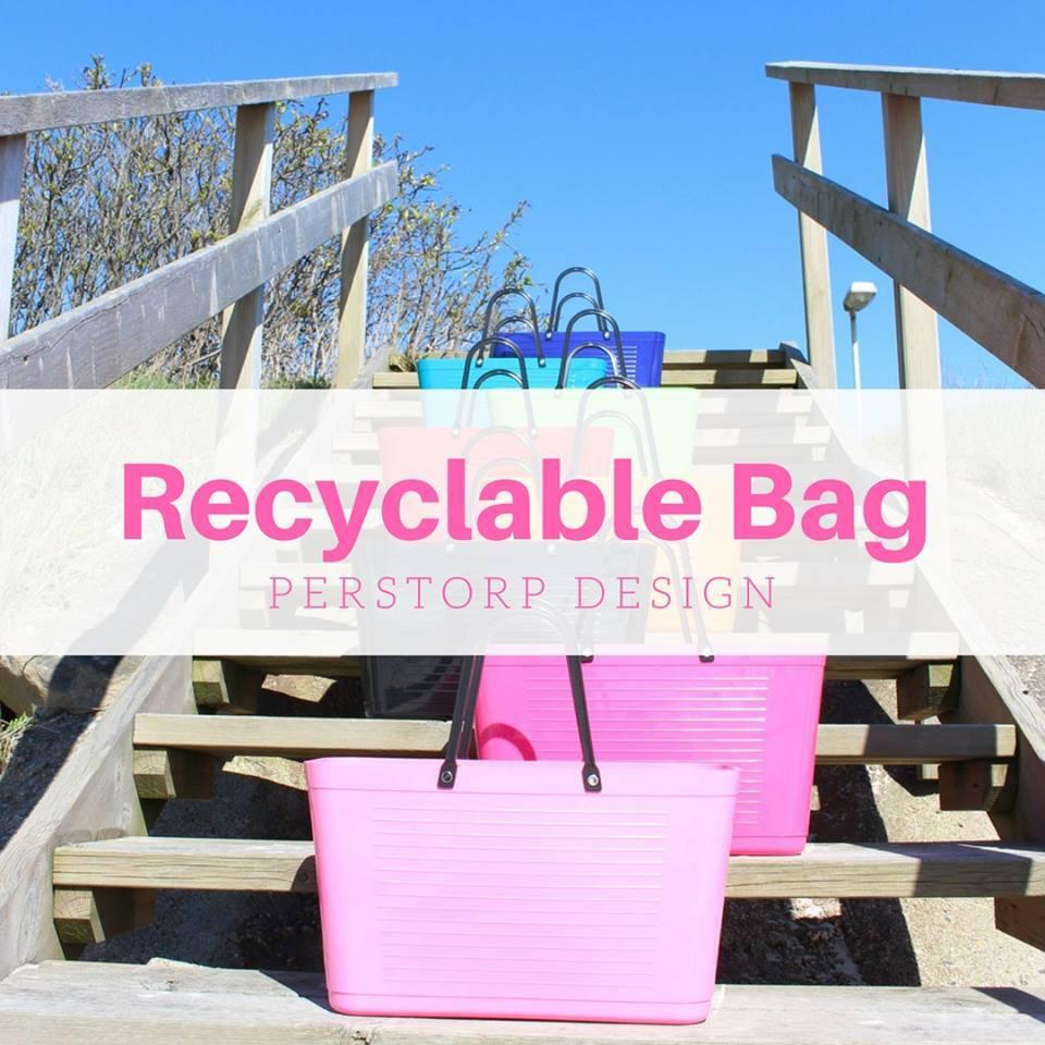 återvinningsbar väska perstorp design