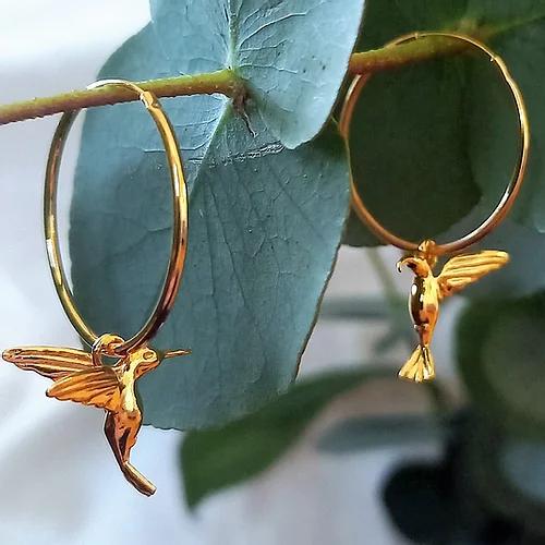 Örhängen i guld