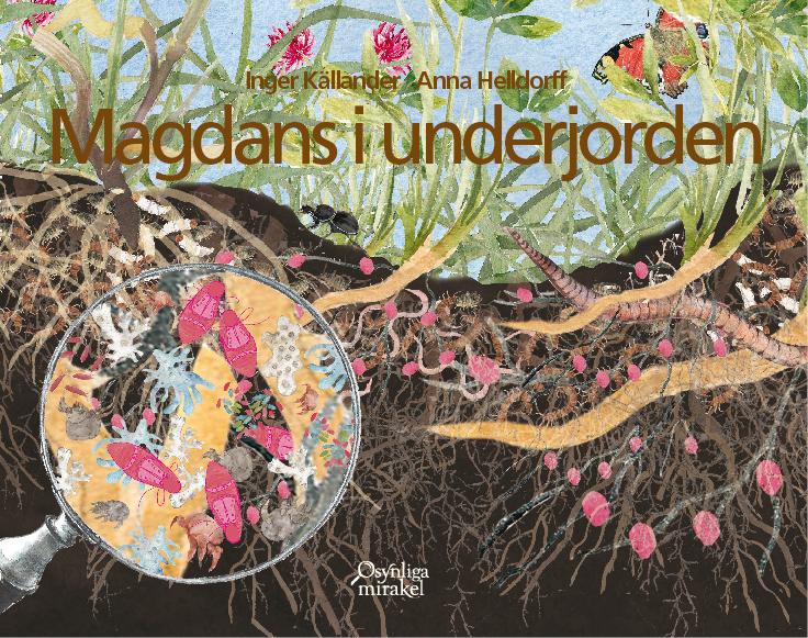Omslagsbild av boken Magdans i underjorden
