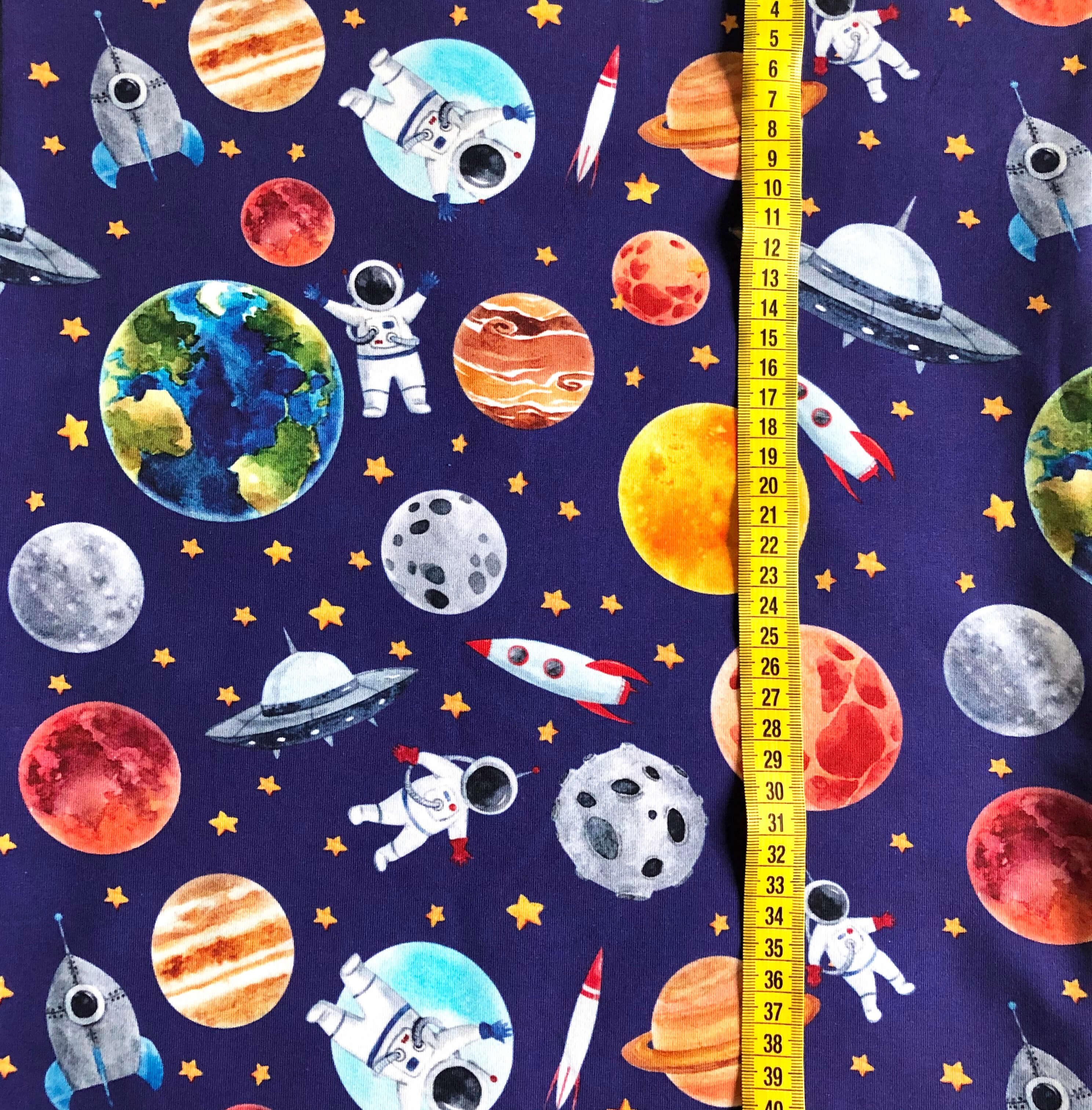 Astronauter, Blå #607, ökotex