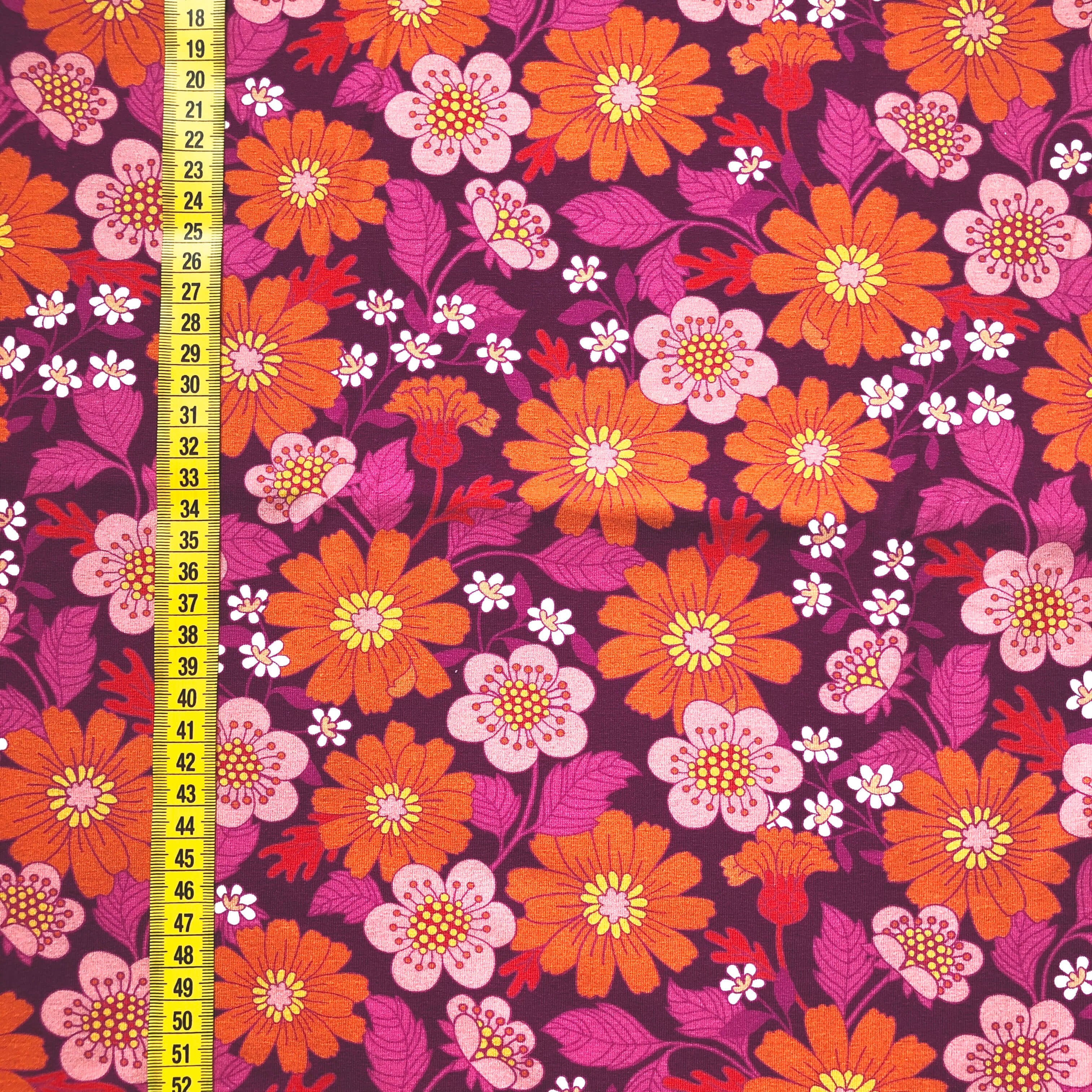 Blomster Florens, Cerise #608, eko,gots