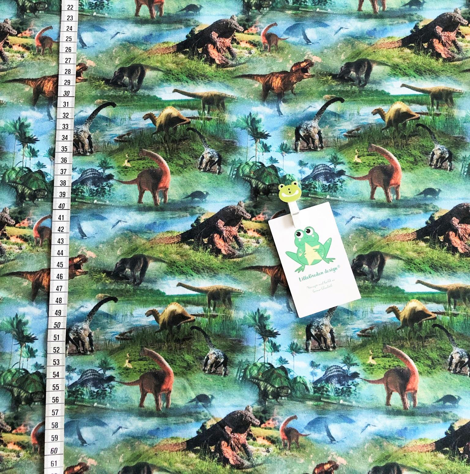 Dinosaurier 2, blå #617, eko