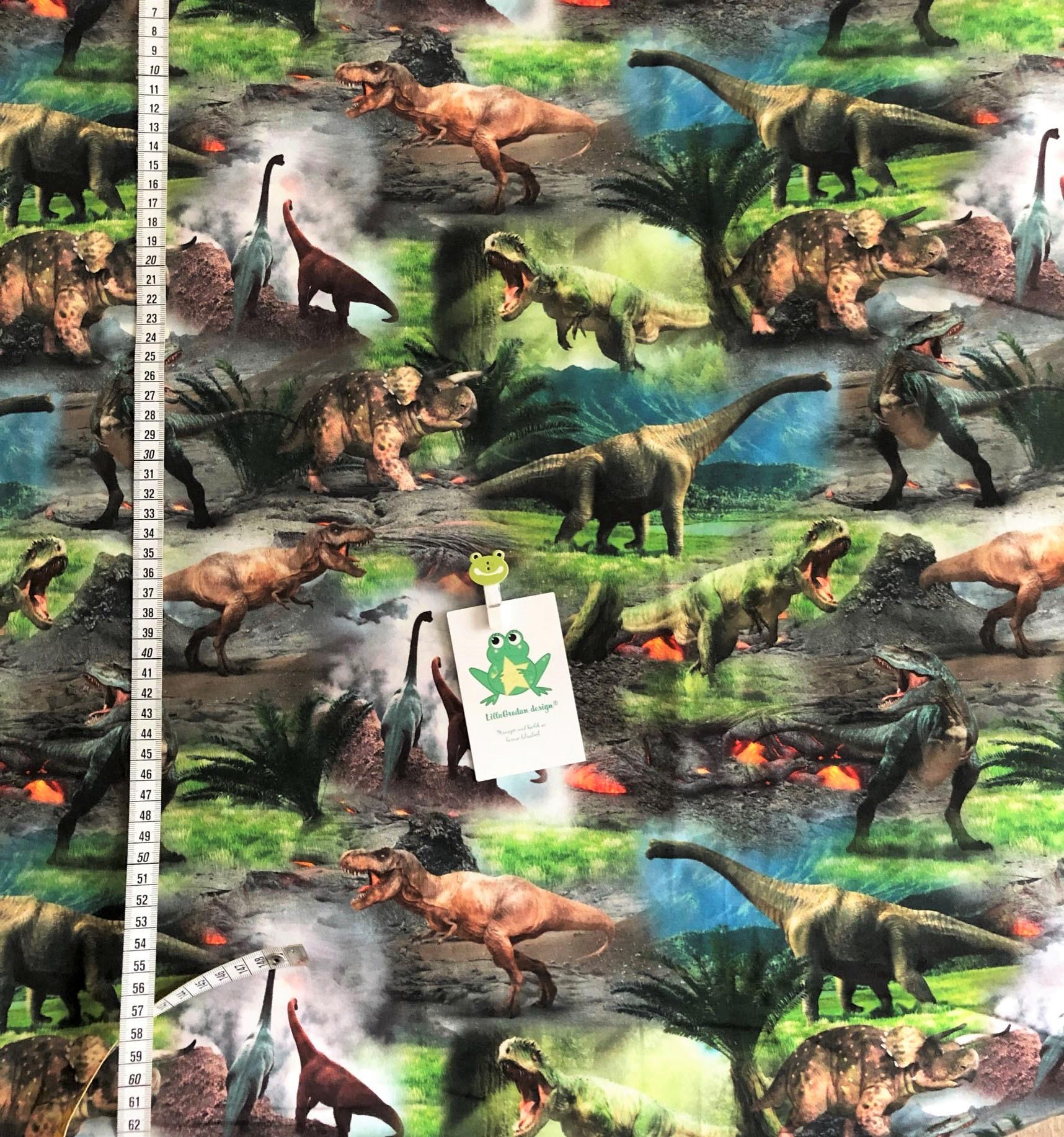 Dinosaurier, grön #503, ökotex