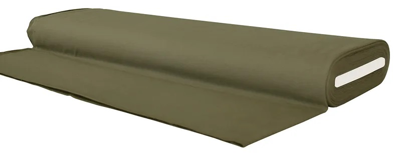 Enfärgat Armygrön #319, ökotex