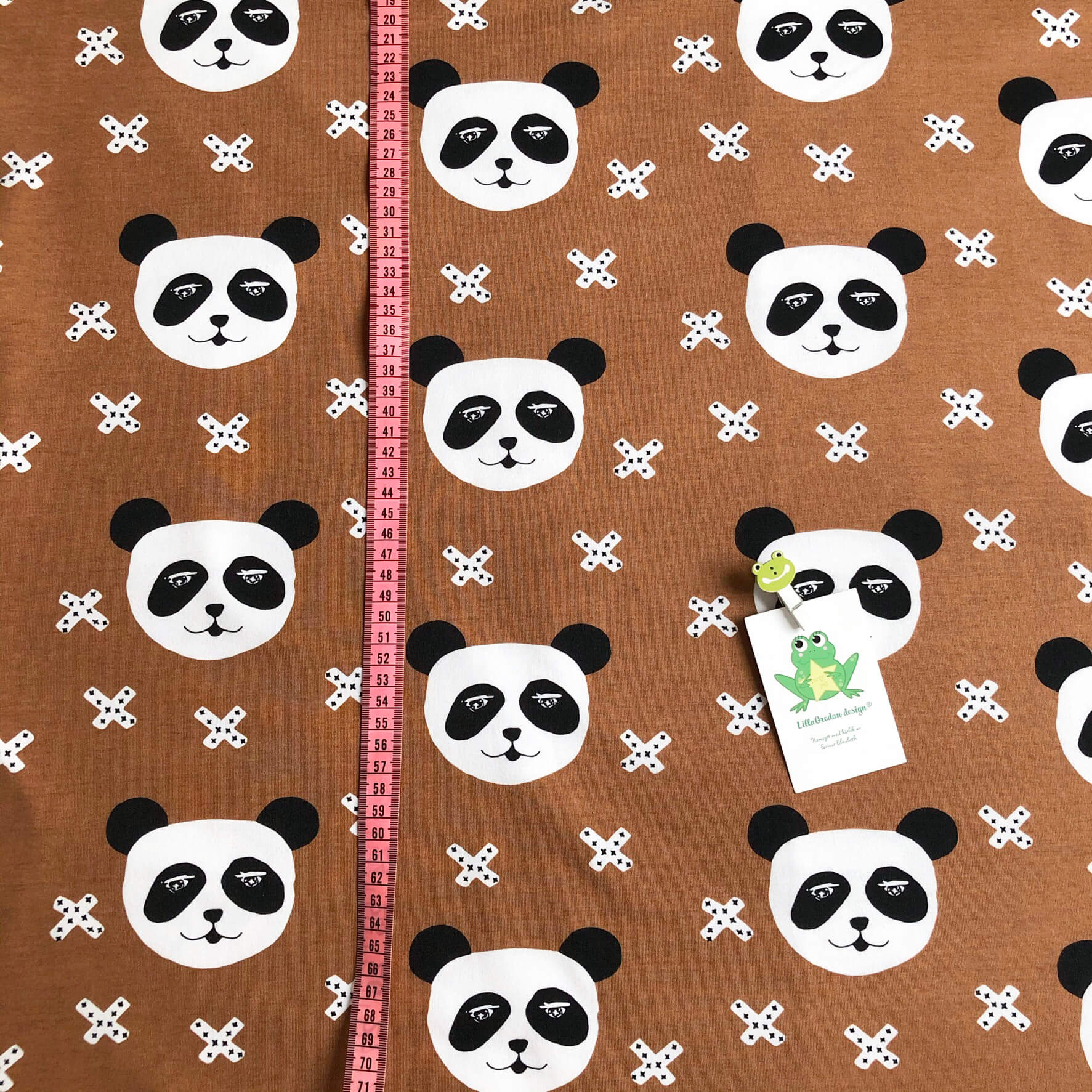 Panda X, Nougat #623, eko,gots