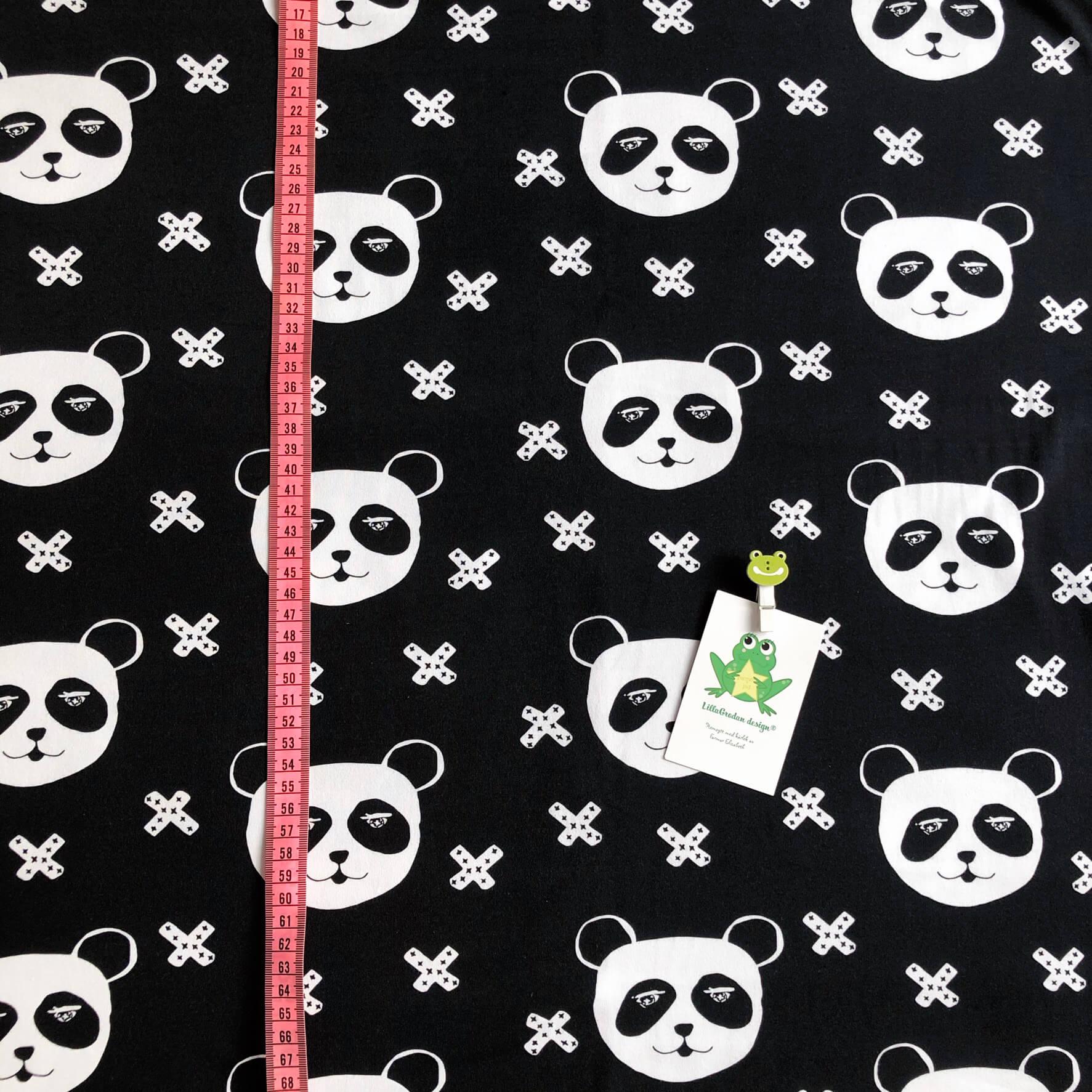 Panda X, Svart #624, eko,gots