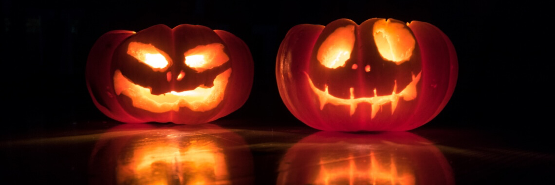 Halloween hos Mr Humblebee