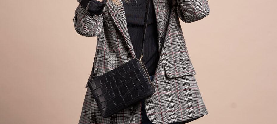 Väska naturgarvat läder O My Bag