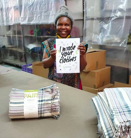 I Made your clothes. Africulture.se tillverkar kikois i västafrikansk tradition.