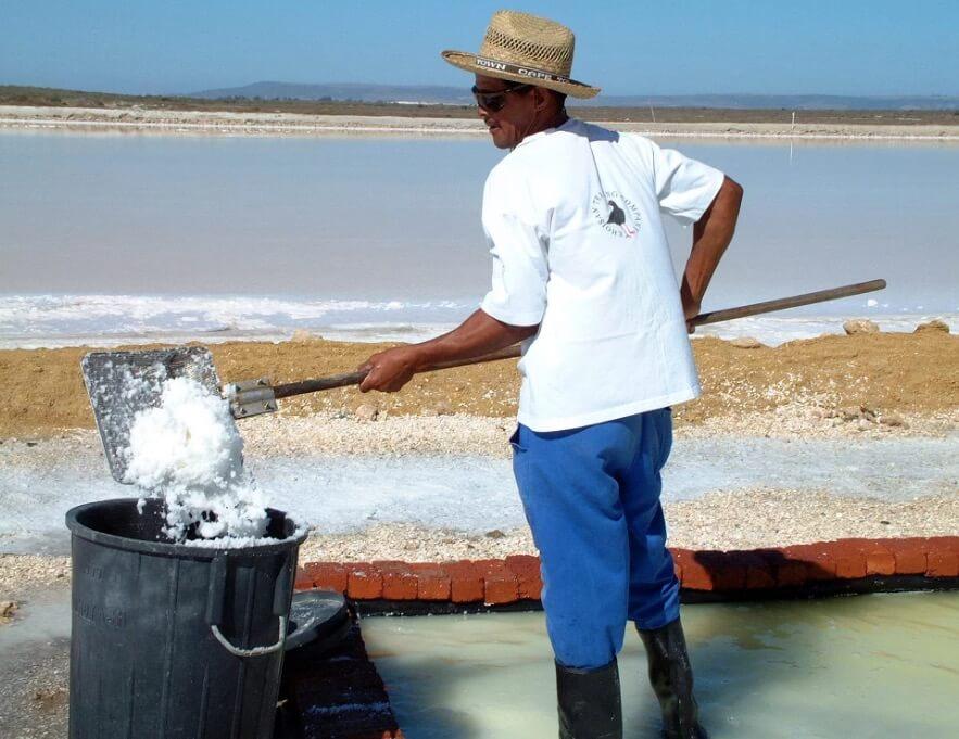 Khoisan havssalt utvinnsav undergjordiskt havsvatten. Granterat mikroplastfritt. Fair Trade.