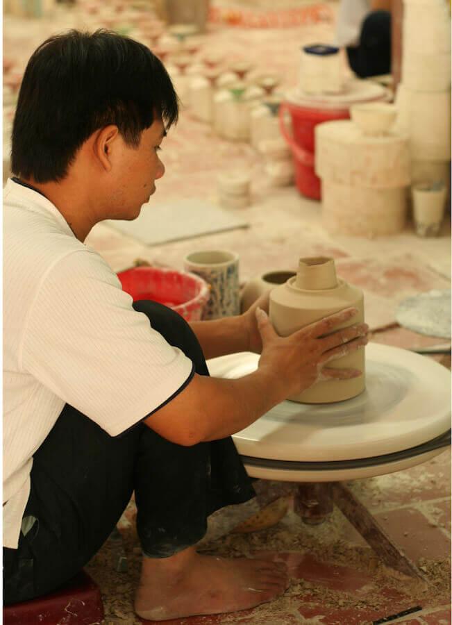 Craft Link är en Fsir Trade-organisation som främjar traditionellt keramikhantverk.