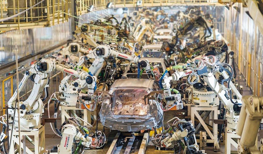 """Résultat de recherche d'images pour """"Toyota factories, robots, 2018, 2019"""""""