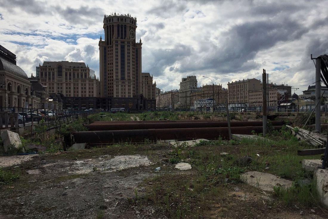 Группа компаний «ПИК» может построить подземный ТЦ на площади возле  Павелецкого вокзала e08edddab6c