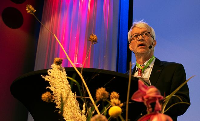 Mats Ericson, omvald som förbundsordförande.