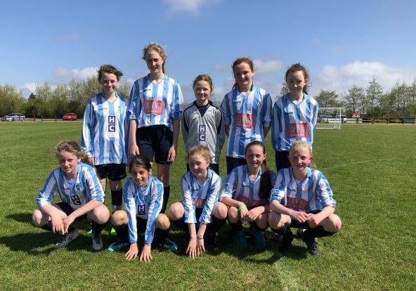 U12 may girls