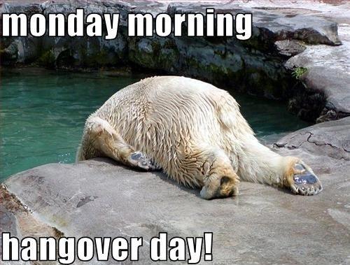 Monday 20hangover