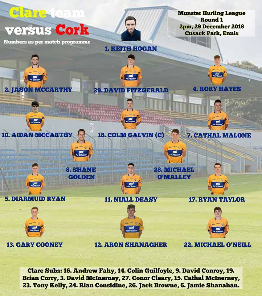 Clare 20v 20cork 20saturday