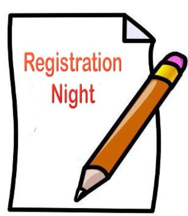 Registration 20night