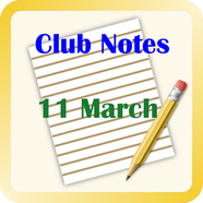 Notes 2011march