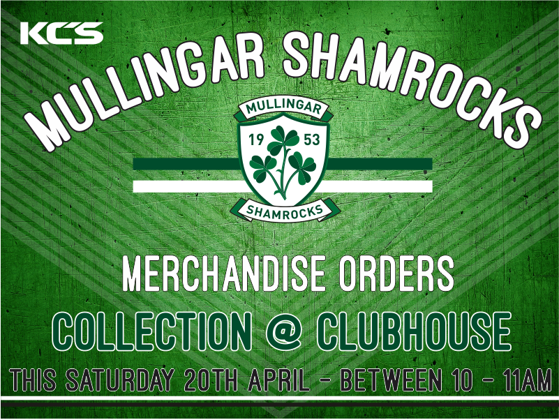 Mullingar 20shamrocks 20collection 20merch 20day 20for 20fb 202018