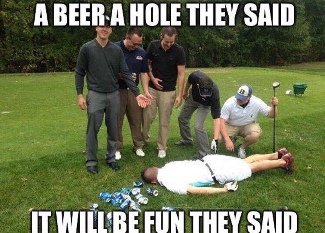 A beer golf memes